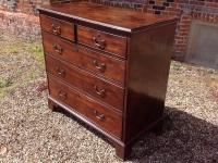 1-18th-century-mahogany-chest-of-drawers-side