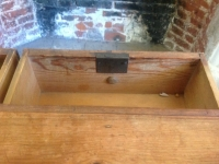 1-Antique-Regency-Victorian-pine-chest-of-drawers-inside-drawer