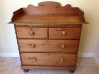1-Antique-Regency-Victorian-pine-chest-of-drawers