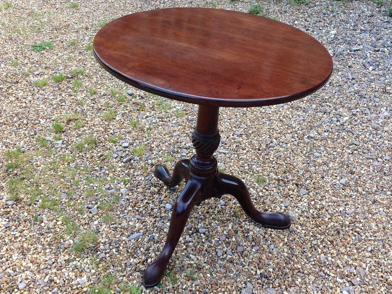 1-Georgian-mahogany-lamp-table