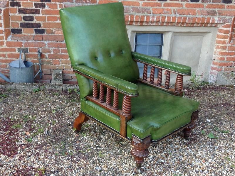 1-Scottish-walnut-Library-chair-side