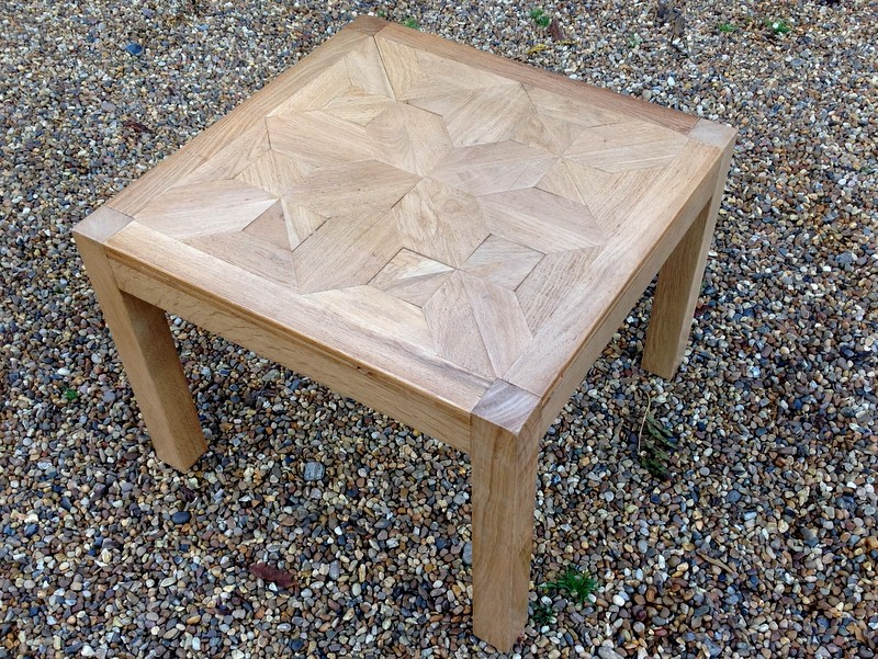 1-Unusual oak low table