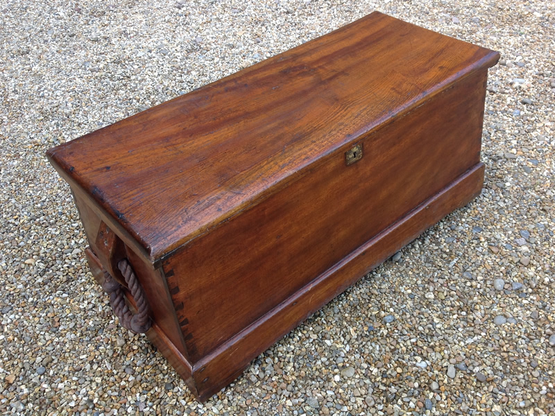18 century camphorwood chest