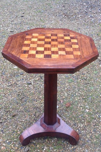 Rosewood table. Antique furniture restoration   conservation  Norwich  Norfolk