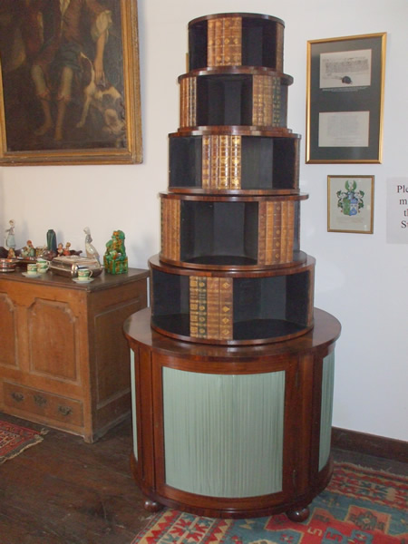 regency-revolving-bookcase-after