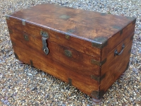 19th century Camphor Campaign Chest