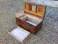 Antique Camphor Wood Campaign Chest