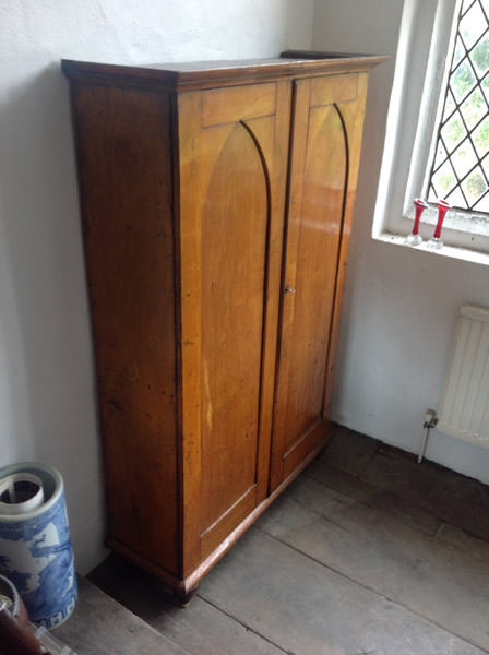 Gothic Victorian Cupboard side