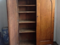 Gothic Victorian Cupboard one door open