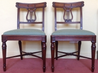 Georgian mahogany chairs