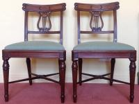Georgian mahogany chairs