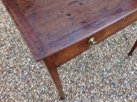 Georgian mahogany side table - detail