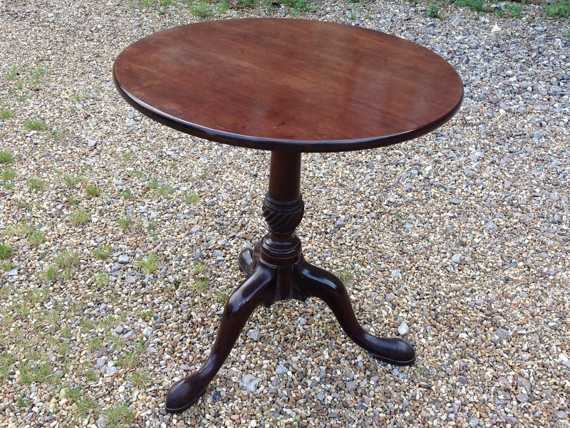 1-Georgian-mahogany-tripod-table