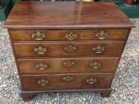 Georgian mahogany chest front2