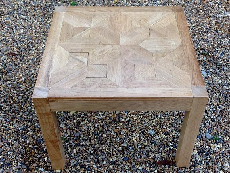 1-Low oak table