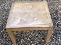 1-Oak low coffee table