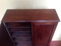 mahogany cabinet 1800 2