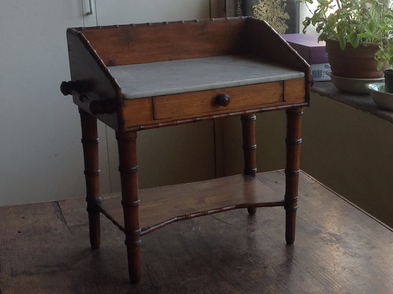 French miniature wash stand