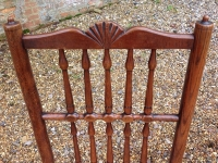 2 Pair of 18th century ash ladder fan back chairs - detail