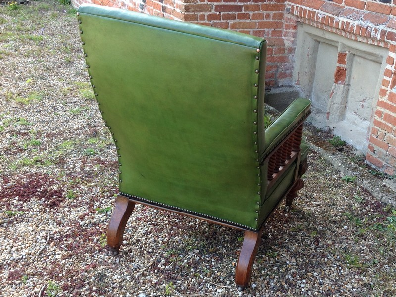 1-Scottish-walnut-Library-chair-back