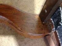 1-Scottish-walnut-Library-chair-maker-details