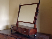 Regency mahogany toilet mirror right
