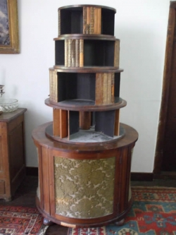 regency-revolving-bookcase-before