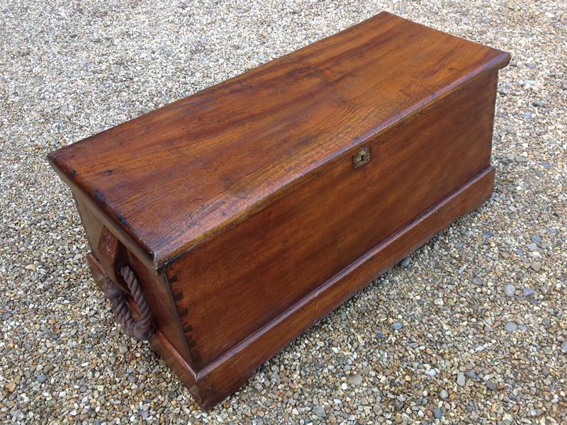 18 century camphorwood chest