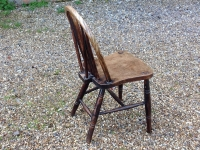 1-Two-antique-Windsor-chairs-side