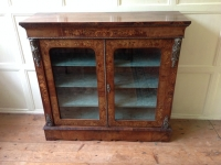19th Century walnut pier cabinet front2