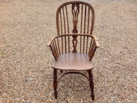 Windsor chair front