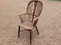 Windsor chair side