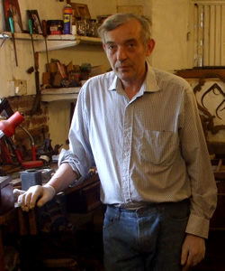 Dermot Murphy, antique furniture restorer