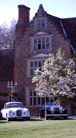 Alvis car club visit to Kirstead Hall